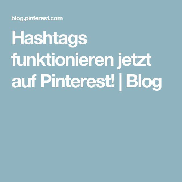 Hashtags funktionieren jetzt auf Pinterest! | Blog