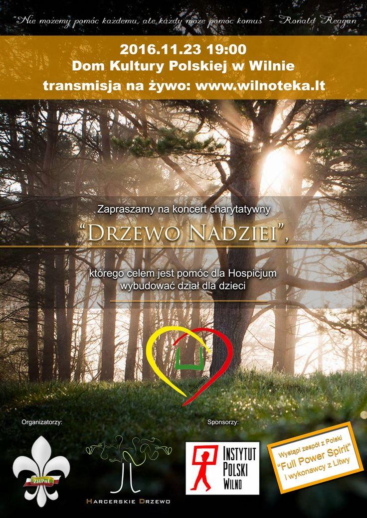 Tree of Hope - a charity concert http://www.wirtualnaskandynawia.pl/drzewo-nadziei-koncert-charytatywny/