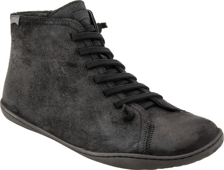 Camper Peu Cami 36411 - Men's Funky Lace Up Boot (Waxy Negro/Cami Negro