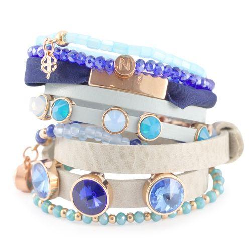 Blue Spring luxe sieraden set