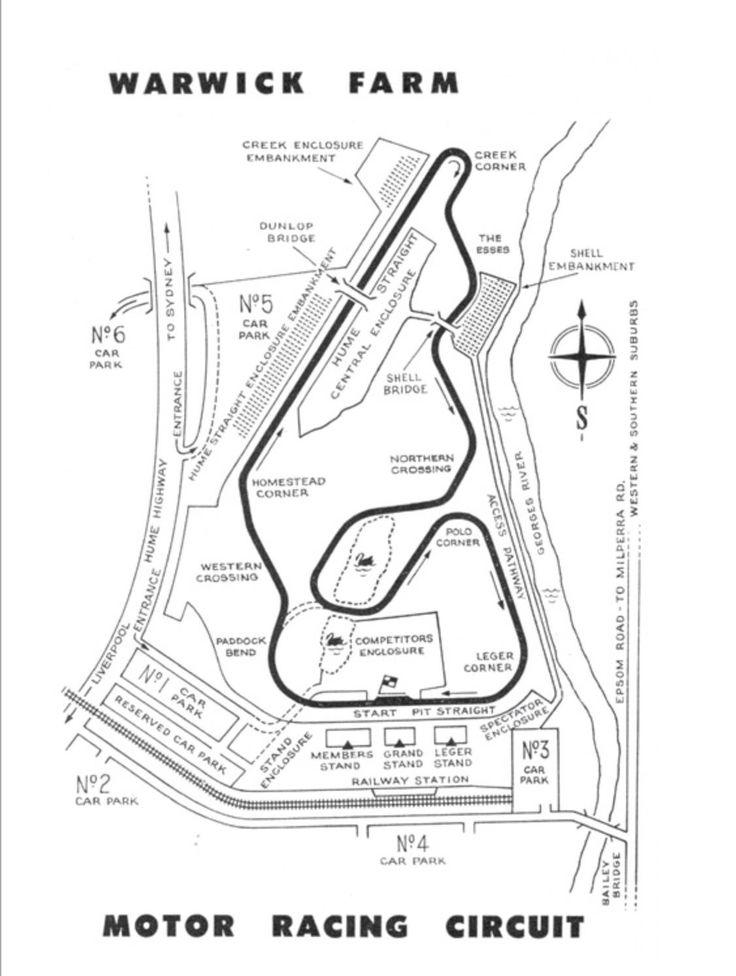 Warwick Farm, Sydney. 'Gods little acre of motor racing