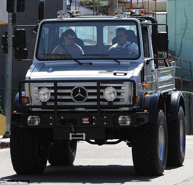 Arnold Schwarzenegger Switches from Hummer to Mercedes-Benz Unimog on http://www.benzinsider.com