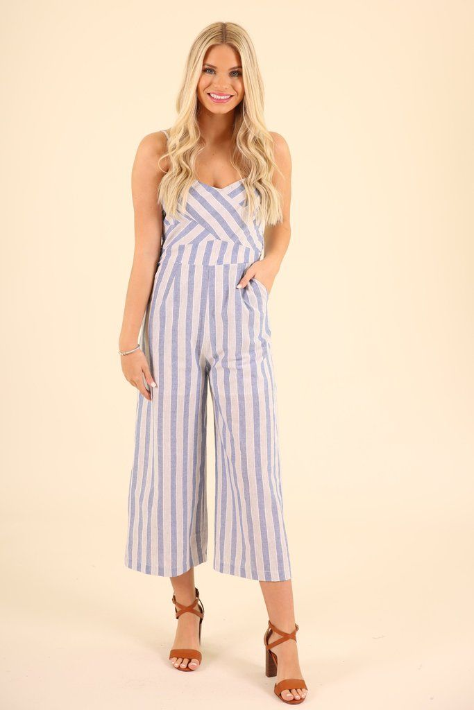 d846f0aeda6 Striped jumpsuit