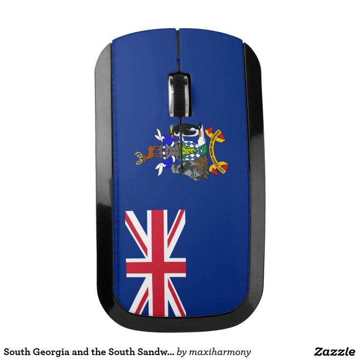 South Georgia and the South Sandwich Islands flag Wireless Mouse