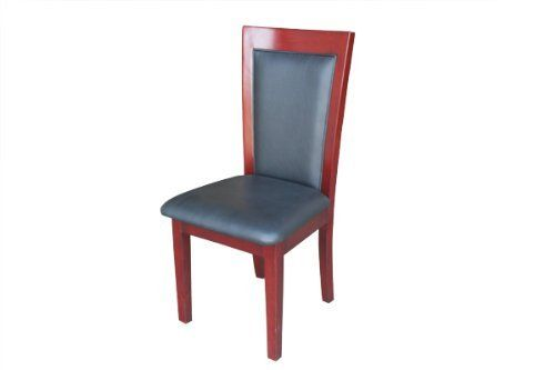 BBO Classic Leather Dining Chair - Chocolate by BBO Poker Tables. $430.00. Solid oak leg and back structures. Premium soft leather vinyl (matches BBO custom tables). 39 Inch high back design. Premium 5 coat paint plus gloss finish. 2 Chairs per order. Elegant poker table chairs to match your high end custom poker table set. Shop professional poker tables and chairs!  Compliment your BBO Poker Table custom table with our premium matching classic dining style pok...
