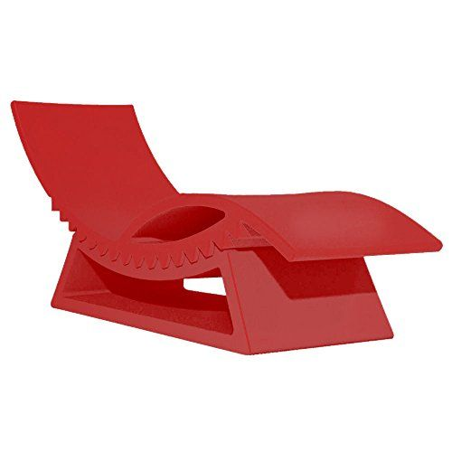 Slide Tic Tac Chaise Longue Flame Red