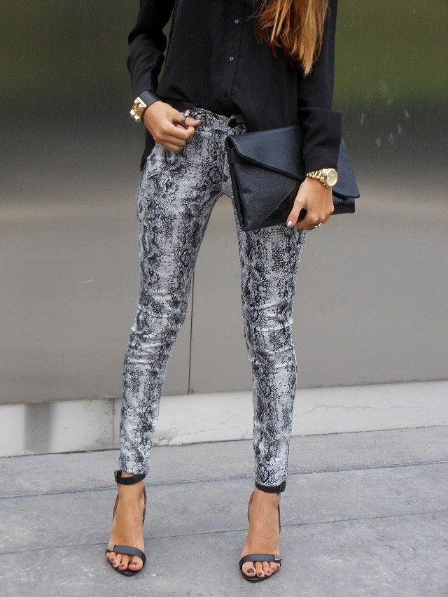 17 Best Ideas About Snake Print Pants On Pinterest Soft
