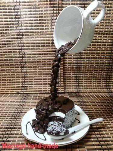 How to make a dummy cake - but the principle is the same ~ Meu Mundo Craft