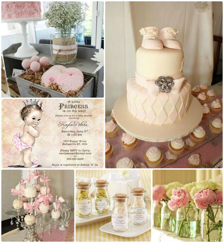 Vintage pink baby shower: Shower Party, Babyshower Ideas, Pink Baby Showers, Shower Ideas Baby, Vintage Baby, Angela S Baby, Vintage Pink, Shower Inspiration, Hostess Party Ideas