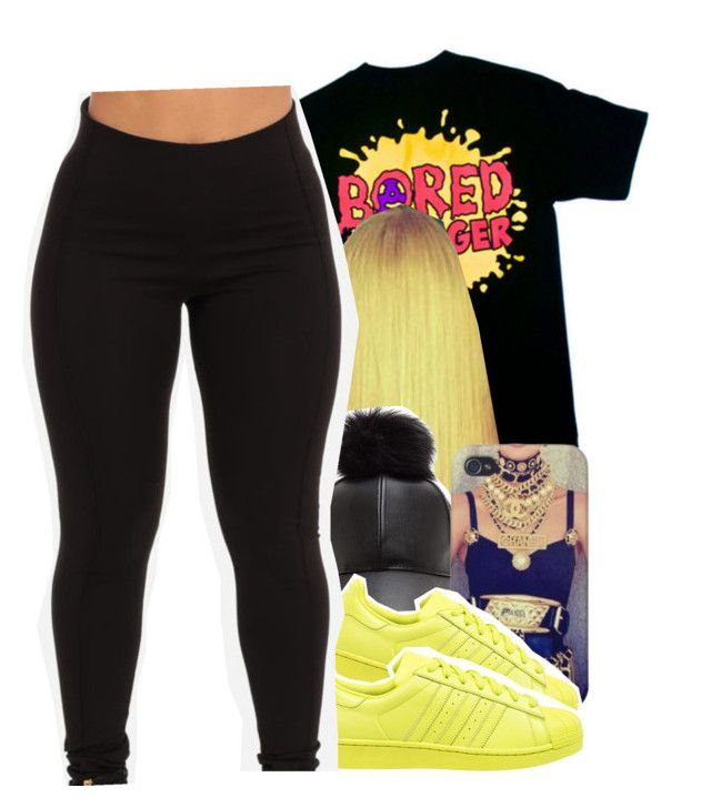 """"""""""" by jchristina ❤ liked on Polyvore featuring adidas Originals"""