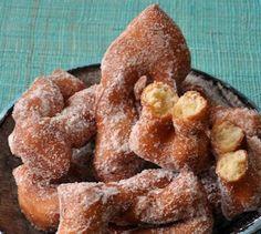 Recette Bugnes légères cuites au four (difficulté Facile) . Découvrez comment préparer votre Dessert sur EnvieDeBienManger.fr