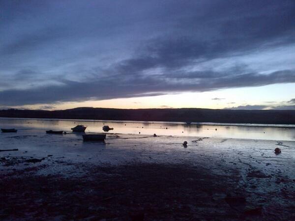 Dramatic sunset 19.12.13