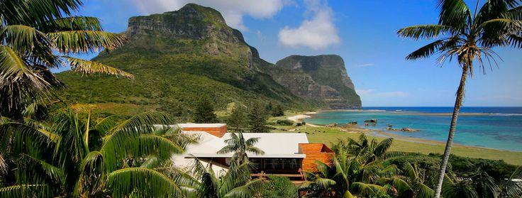 Capella Lodge, Lord Howe. Lordy, it looks beautiful.