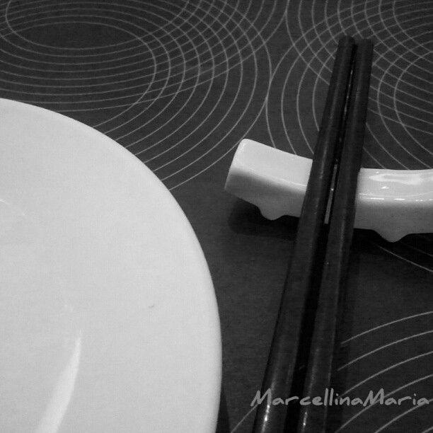 black & white dinning