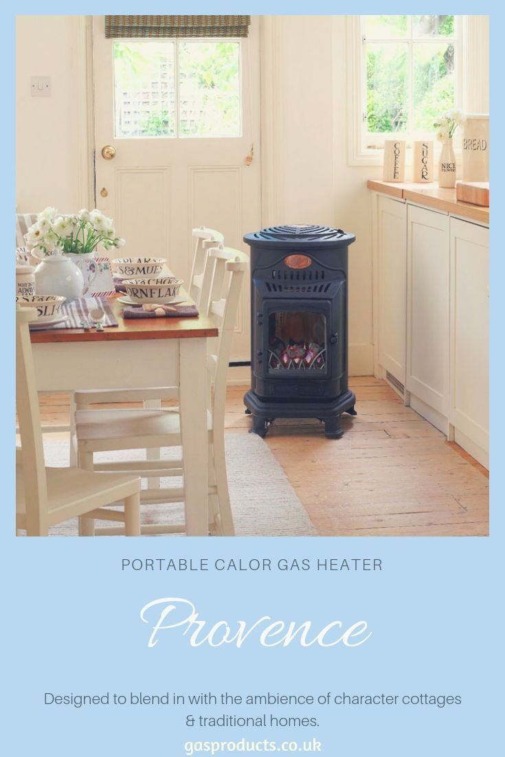 Calor Gas 3kw Blue Provence Portable Gas Heater Gas Heater Tiny Wood Stove Living Room With Fireplace
