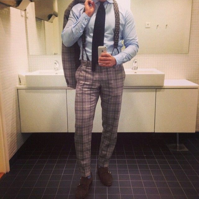 Cause I know how much we all love suspenders. Heres a repost from @thenordicfit Enjoy!!!  #suspenders #suit #shirt #trousers #braces #classy #dapper #elegance #shoes #meninsuits #sartorial #bespoke #timeless #outfit #ootd #style #menswear #moda #suitup #amazing #bold #inspiration #instafashion #cool #expression