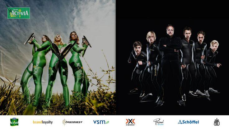 Team Activia / Team Brand Loyalty landingspage