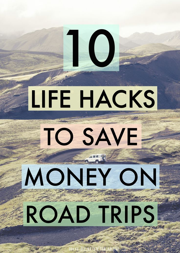 Planning on going on a family road trip this spring or summer? Here's a great list of life hacks to follow so you can save money and travel on the cheap on your next road trip.