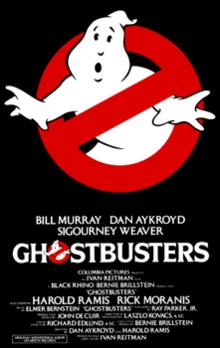 Ghostbusters. So funny, I forgot to eat my popcorn the first time I saw it in the theaters!