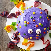 Kids of all ages will love this silly octopus cake! See more fun party cakes: http://www.bhg.com/recipes/desserts/cakes/best-of-cakes--magazine/?socsrc=bhgpin041613octopuscake=3