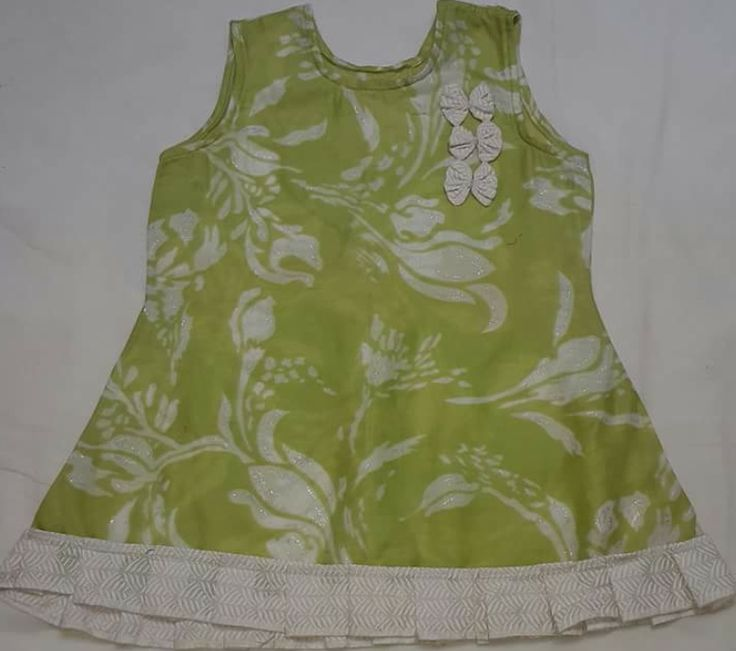 Lawn frock with flower for sale online.