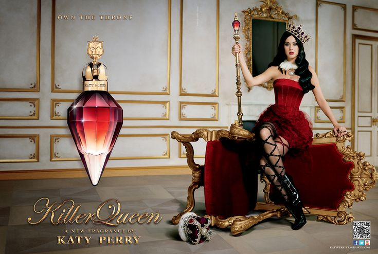 Killer Queen Katy Perry perfume - a new fragrance for women 2013