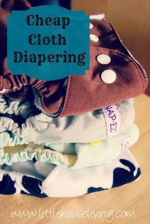 Cheap Cloth Diapers and Frugal Diapering. Cloth diapers don't have to be expensive, here's where to find them for less and save so much money on baby!