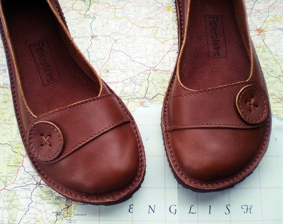 Handmade leather shoes by fairysteps on etsy.com