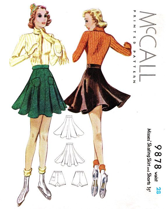 1938 ice skater skirt - for comps?  Swishy and twirly...