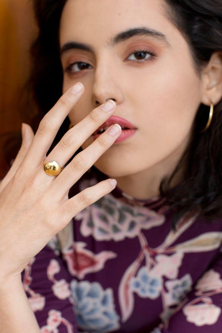 rett frem #jewelry | Marlena #ring | Precjoza collection | photo Magdalena Czajka
