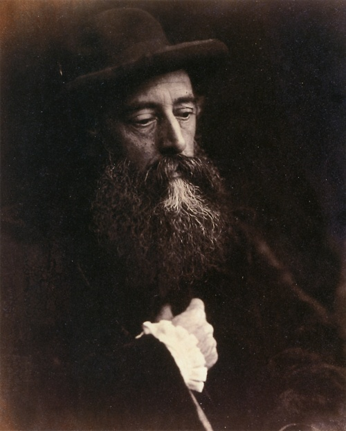 George Watts with hat - Julia Margaret Cameron