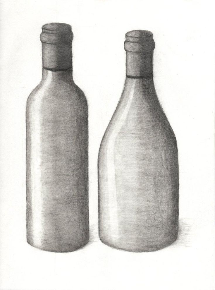 статье легкие картинки на бутылку самые