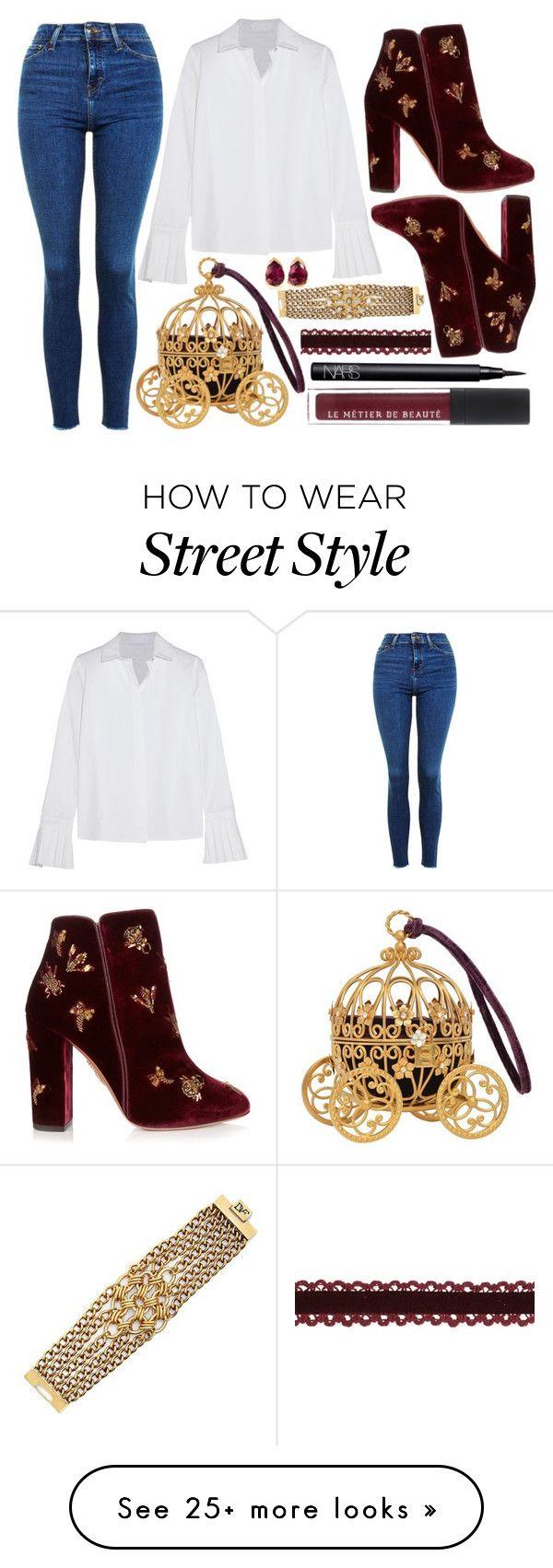"""street style"" by sisaez on Polyvore featuring Topshop, CO, Aquazzura, NARS Cosmetics, Diane Von Furstenberg and Fernando Jorge"