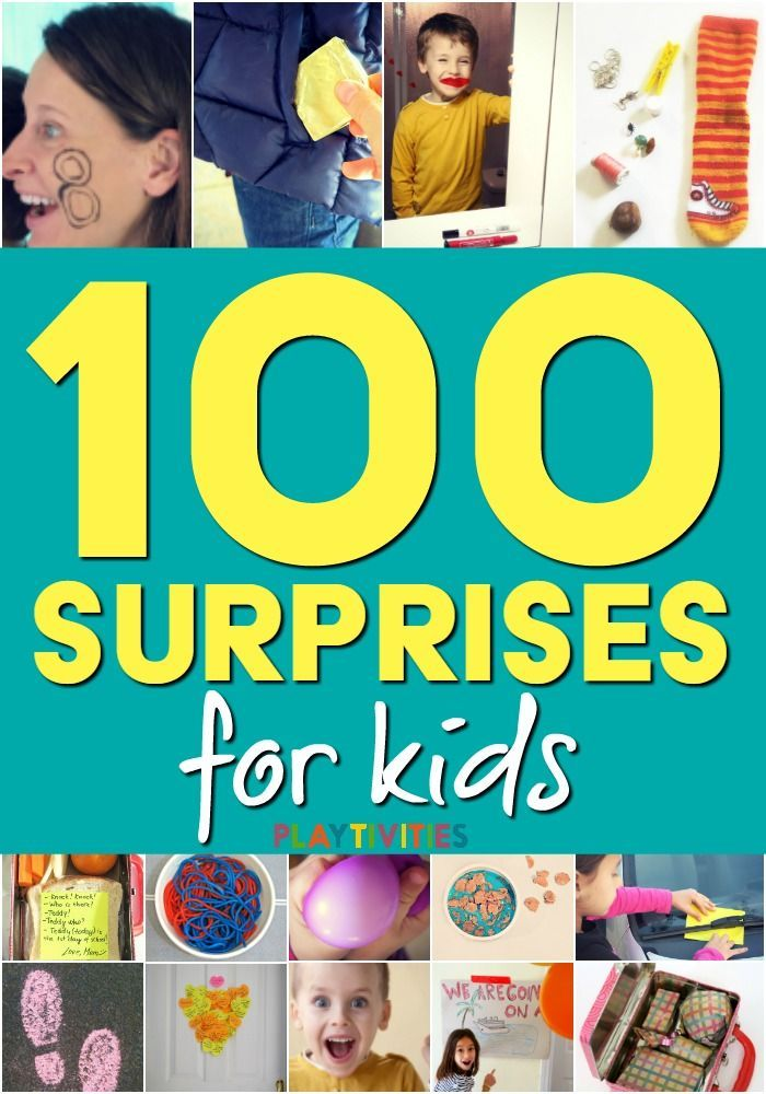 How to surprise your kids without buying expensive gifts. This ebook is full of fun activities and surprises for kids that parents and caregivers can do without big preparation.