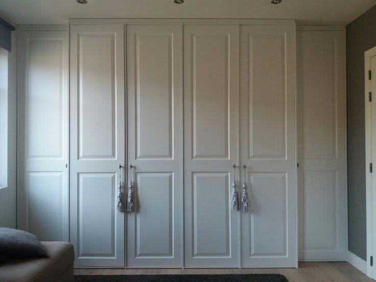 Landelijk inbouwkast dressing kastenwand slaapkamer pinterest dressings en slaapkamer - Dressing slaapkamer ...