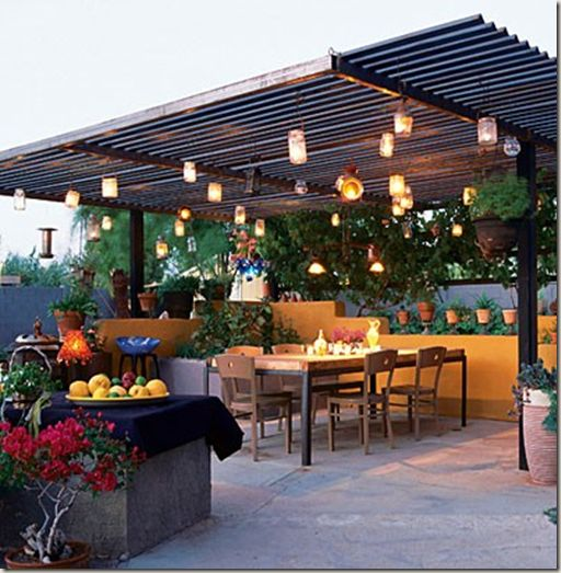 Inexpensive Garden Ideas modern mosaic Fairly Inexpensive Patio Cover