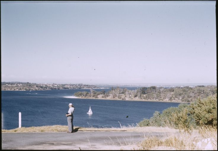 144553PD: Swan River from Mon Repos Nursing Home, Mosman Park (Pt. Walter on right), Feb. 1962  https://encore.slwa.wa.gov.au/iii/encore/record/C__Rb4557292