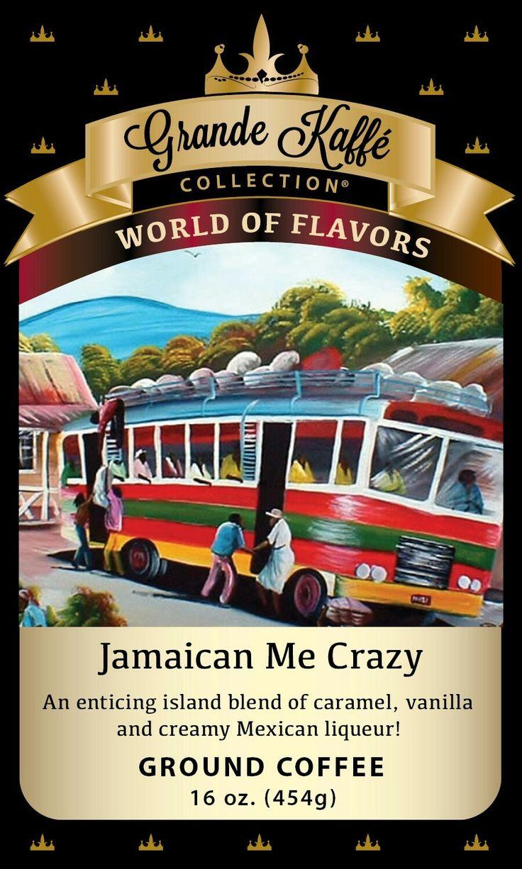 Jamaican Me Crazy for a cup of #coffee!   #customerfavorite #topseller #flavoredcoffee #coffeeoftheweek