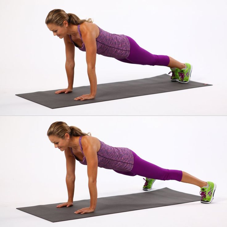 Take your jumping jacks to the floor for this plank variation that not only works your arms, core, and lowe...