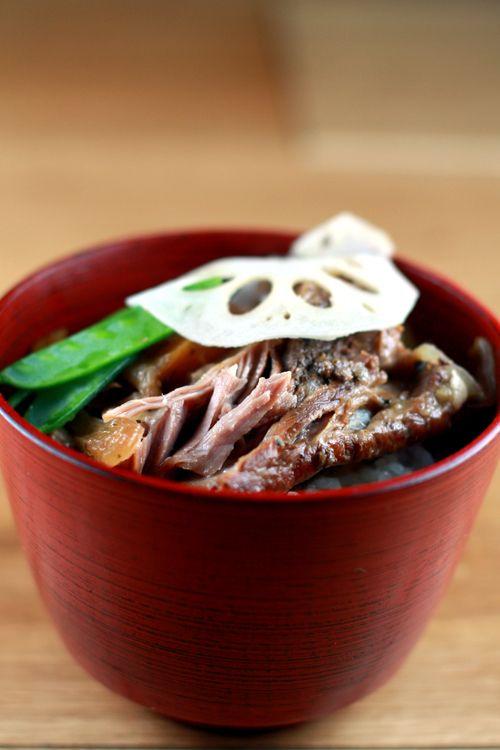 Japanese Beer Braised Short Ribs & Pickled Lotus Root Recipe