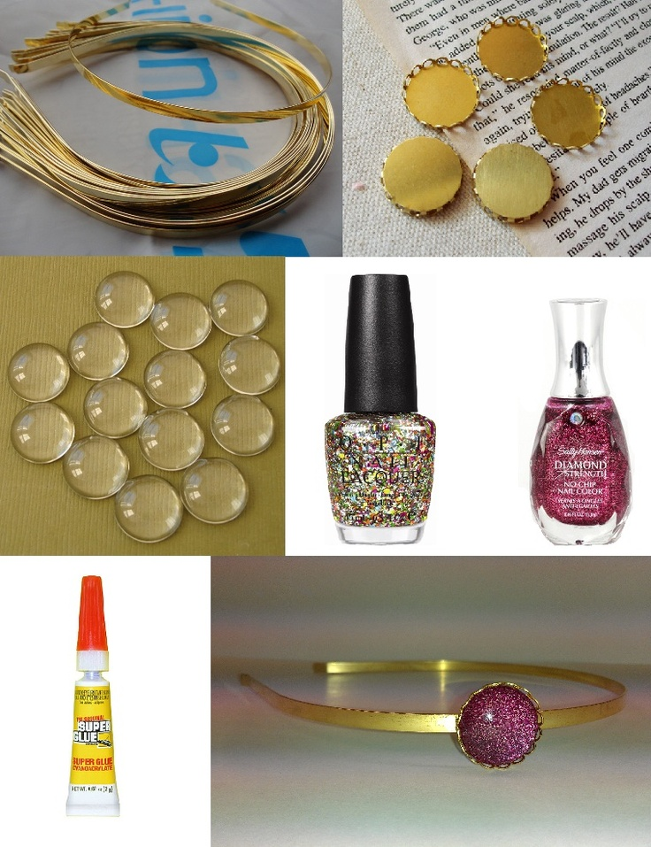 17 best images about nail polish crafts on pinterest diy for Nail polish crafts