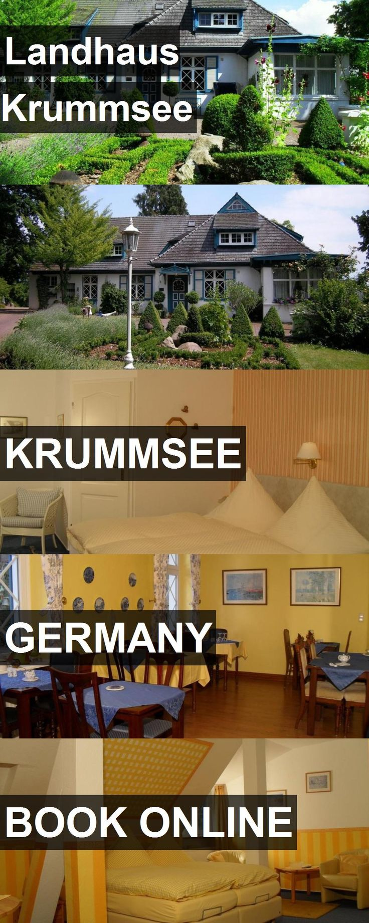 Hotel Landhaus Krummsee in Krummsee, Germany. For more information, photos, reviews and best prices please follow the link. #Germany #Krummsee #travel #vacation #hotel