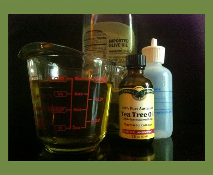 Natural Scalp Psoriasis Treatment | Tea Tree Oil and Olive Oil