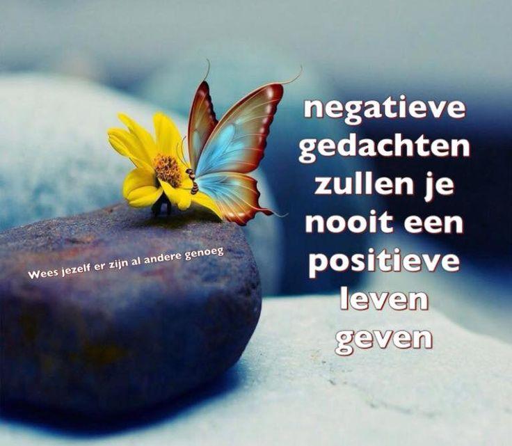 Negatieve gedachten zullen je nooit een positieve leven geven