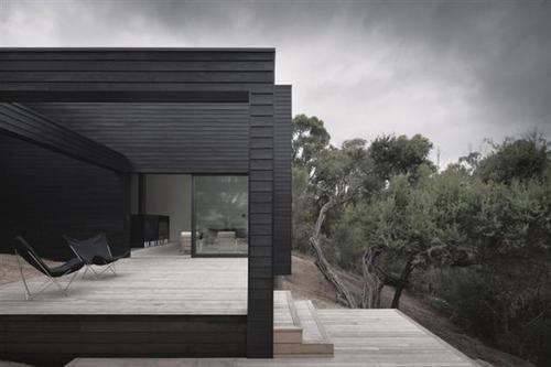 Black Wooden Cladding For The Home Pinterest Black