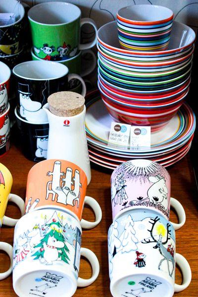 Mumin cups at Kippis Berlin