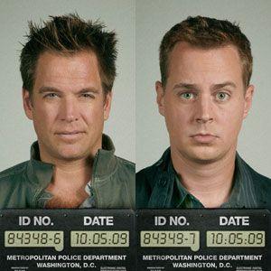 SMILE: Tony DiNozzo and Timothy McGee on 'NCIS'    oh dear...lol