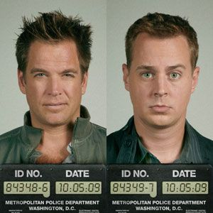 SMILE: Tony DiNozzo and Timothy McGee on 'NCIS'    oh dear...lol