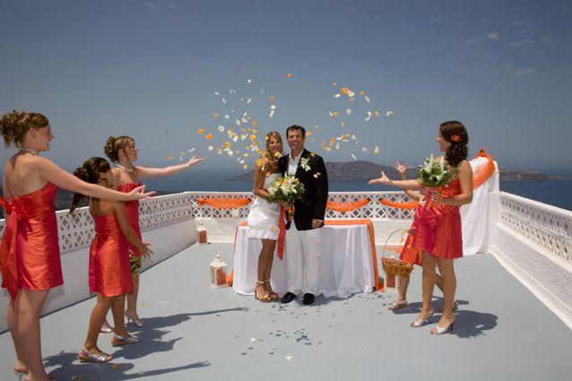 Santorini wedding ceremony packages
