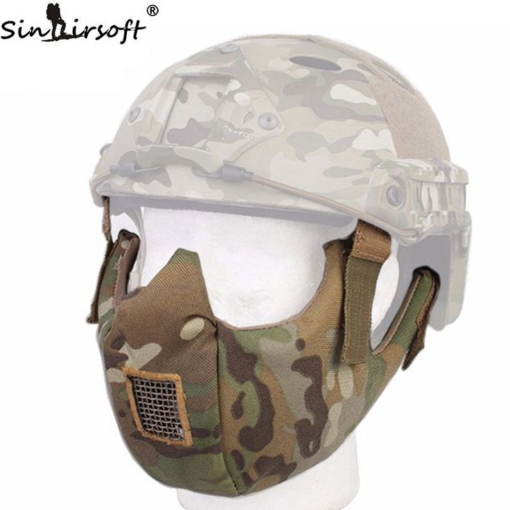 Tactical Half Face Protective Mask Goggle for Fit Ops-core Fast Helmet Airsoft Paintball Hunting Accessories //Price: $38.99 & FREE Shipping //     #tacticalgear #survivalgear #tactical #survival #edc #everydaycarry #tacticool #hunting #camping #outdoors #pocketdump #knives #knifeporn  #knife #army #gear #freedom #knifecommunity #airsoft